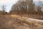 Yard tracks.
